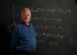 Peter Higgs hypothesised the existence of the Higgs Boson Particle