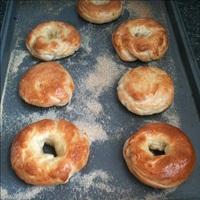 Finished bagels