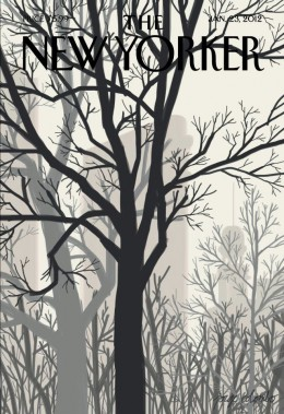 The New Yorker cover from January 2012