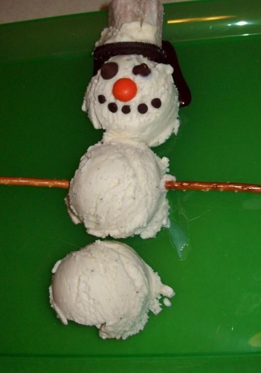 Our Yummy Snowman