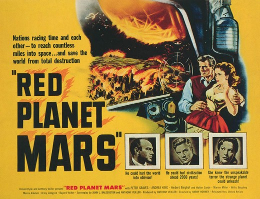 Red Planet Mars - poster