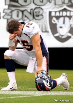 Tim Tebow starts a new craze