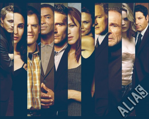 Alias TV Series Cast