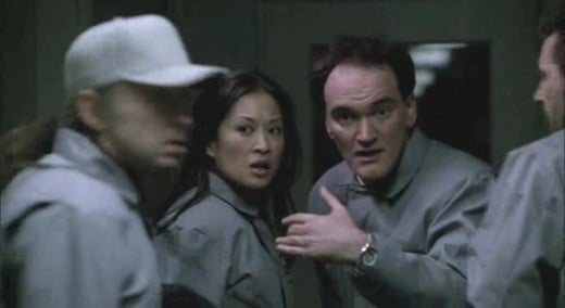 Quentin Tarantino makes a cameo appearance in episode 12. This really entertained me.