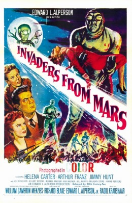 Invaders from Mars (1953) poster