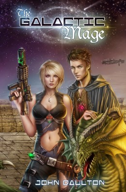 The Galactic Mage - my new novel. Come have a look at the video trailer, that alone is fun. 90 seconds of awesomeness await!