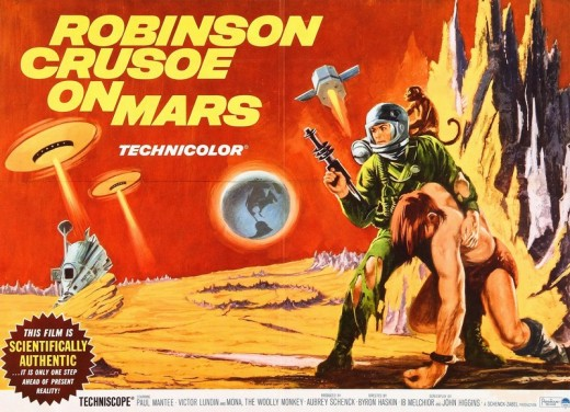 Robinson Crusoe on Mars - poster