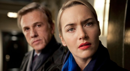 Christopher Waltz and Kate Winslet