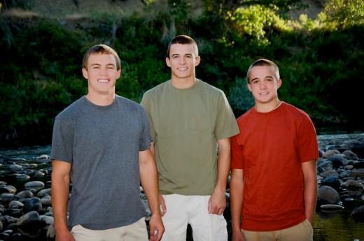 Thomas, Austin & Jonah