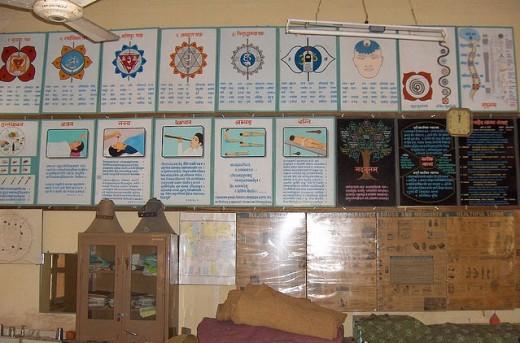 Common Ayurvedic charts