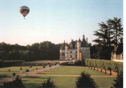 Hot air balloon trips can be booked where you will have a beautiful view of the chateau and gardens.