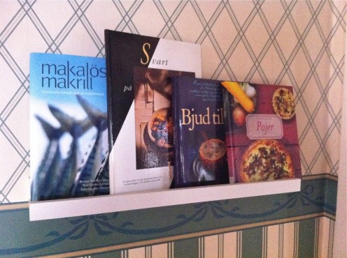 Have your cookbooks where you can see them!