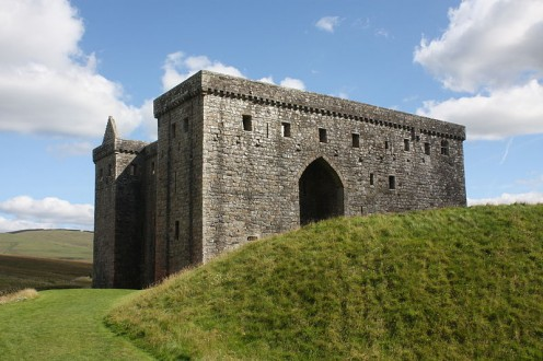 Is Hermitage the Most Evil Castle in Britain?