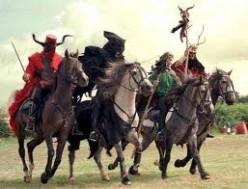 REVELATION 6: WAR DEATH FAMINE PESTILENCE - THE FOUR HORSEMEN OF THE APOCALYPSE