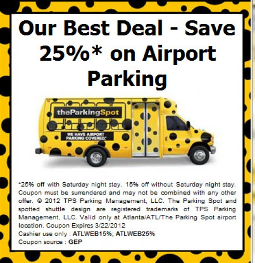 Jfk airport parking discount coupons