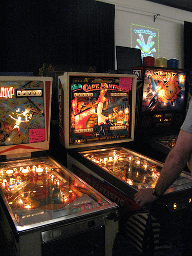 Remember, bring your own pinball to show it off and you get free admission.