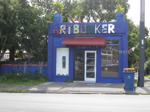 The Artbunker in Titirangi