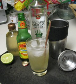 Dragon Berry Ginger Cocktail