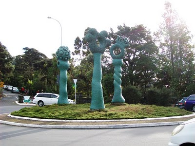 Titirangi Roundabout Art