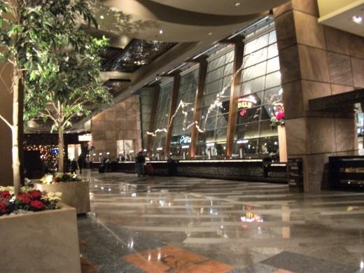 Aria Las Vegas front check in desk / lobby