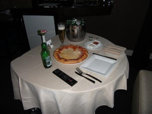 Aria Las Vegas room service