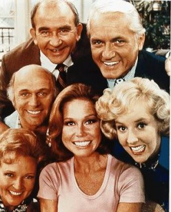 The Mary Tyler Moore show began its debut in 1970 running for seven years.