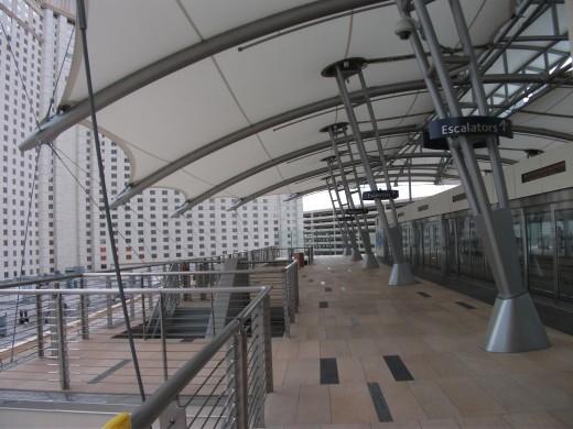 Aria Las Vegas monorail station