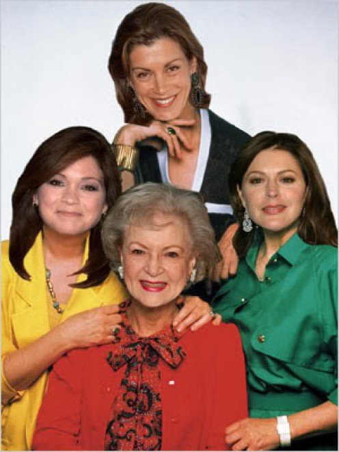 The cast of Hot in Cleveland.