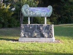 Welcome to Titirangi Sign