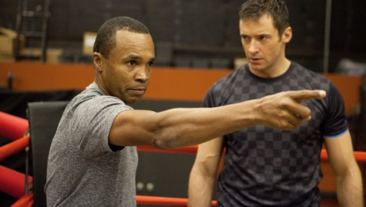 Sugar Ray Leonard was the boxing consultant for Real Steel. He probably should've acted too.