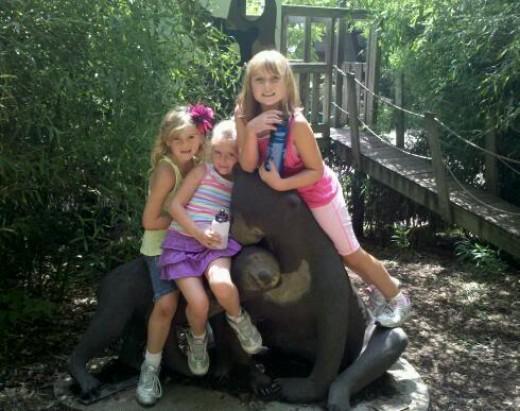 Akron Zoo Bear Statue