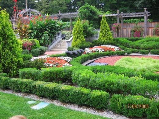 Gardens at Akron Zoo, Akron, Ohio