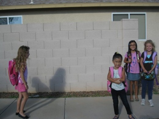 Asperger children often feel left out of the group.