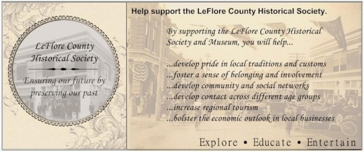 Help Support the LeFlore County Historical Society and Museum