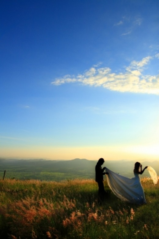 Meadow  ceremony