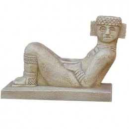 Original from Temple of the Warriors, Chichen Itza, Mexico. 1000 A.D. Chac Mools (reclining man statues) have been found across Mesoamerica. Click on link below to purchase this warrior for your home...