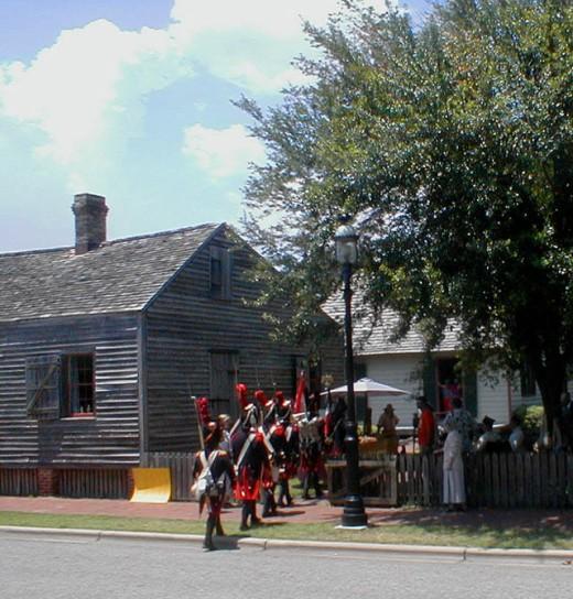 Historic Pensacola reenactment
