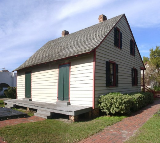 Old Pensacola home.