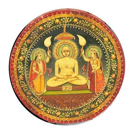 Miniature painting of Bhagwan Mahavir