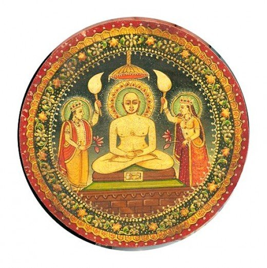 Miniature painting of Bhagwan Mahavir