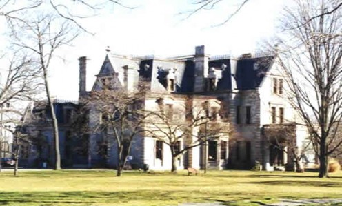 Lockwood-Mathews Mansion Museum in Norwalk, Connecticut
