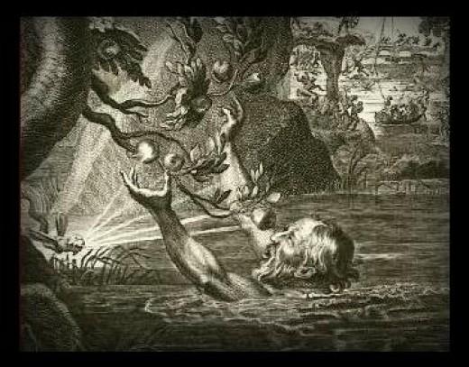 the punishment of tantalos