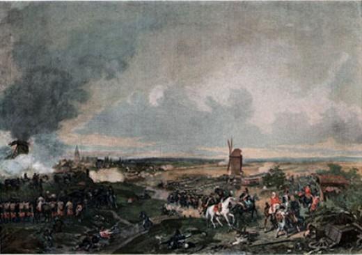 The Battle of Hondschoote 1793