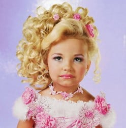 Toddlers  and Tiara's complete child abuse on national television