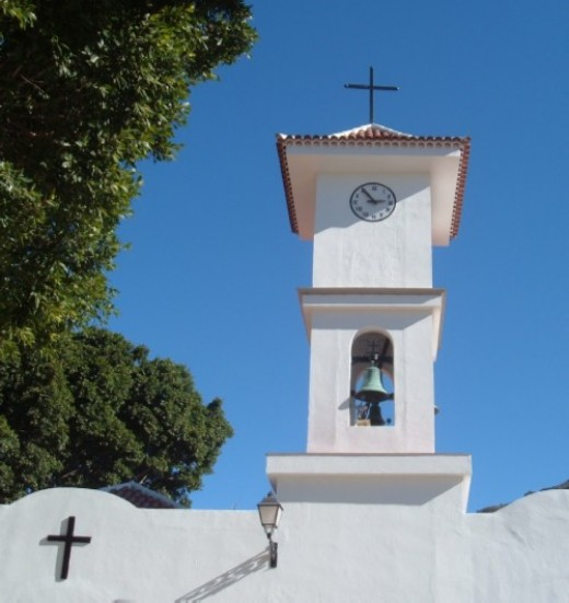 Tamaimo church bell-tower. Photo by Steve Andrews
