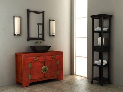 The Bathroom Vanity Tower: Space-Saving Storage Solution