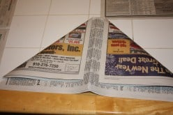 How To Make A Pirate Hat Out Of Newspaper