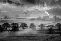 A Winter Scene in Cumbria