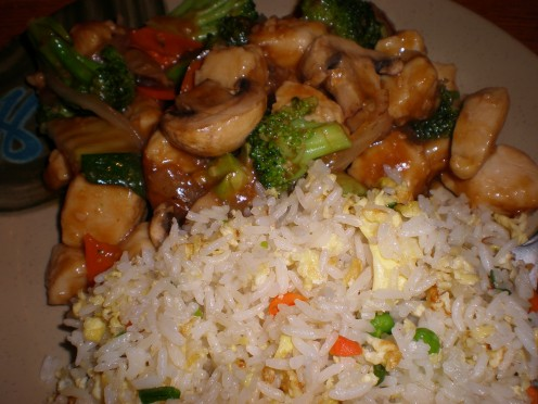 Stir-Fry with Rice