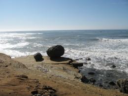 Juan Cabrillo beach near tide pools in Point Loma, CA